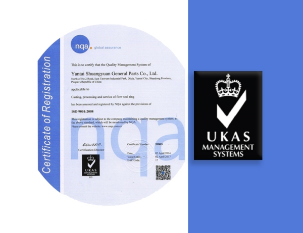 ISO 9001:2002 Certification